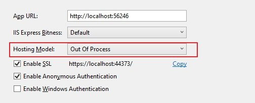 Asp.Net Core 3.0 throw HTTP Error 500.30 - ANCM In-Process Start Failure