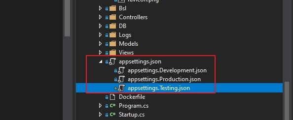 Read configure value in asp.net core